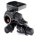 Manfrotto Testa Junior a Cremagliera, per Treppiede Fotocamera, Testa Fluida ad Alta Precisione, Accessori Fotografia, Fotocamera, per Fotografi Professionisti