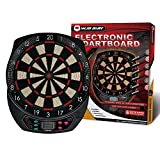 WIN.MAX Electronic Soft Tip Dartboard Set LCD Display with 6 Darts, 40 Tips, Power Adapter