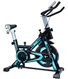 CENTURFIT Bicicleta Fija Disco Rueda de 8 Kg Estatica Spinning Fitness Cardio Ciclismo...