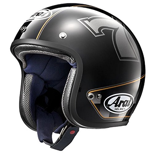 アライ(ARAI) バイクヘルメット ジェット CLASSIC MOD CAFE RACER ブラック 59-60 L