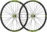 Spank OOZY Trail 345 Wheelset 27.5' Bike Wheels, Black/Green