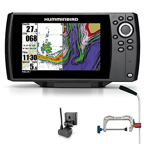 Humminbird Helix 7Sonar GPS Ecoscandaglio See carta plotter Combo Portabel professionale