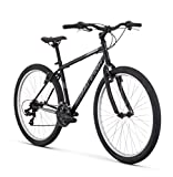 RALEIGH Talus 1 Recreational Mountain Bike, 19' /Lg Frame, Black, 19' / Large