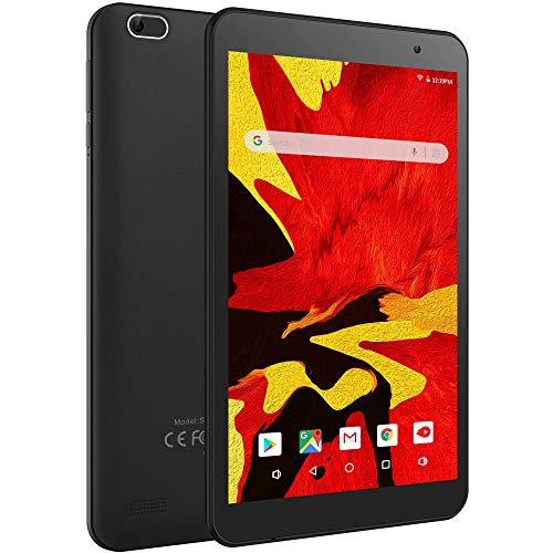 Tablet da 8 Pollici con Processore Quad-Core, VANKYO S8 Tablet Android 9.0 con CPU da 2GB + 32GB, Tablet per Bambini con Fotocamera da 5MP, Tablet Offerte Supporta GPS, FM e Wi-Fi