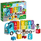LEGO DUPLO My First Alphabet Truck 10915 ABC Letters Learning Toy for Toddlers, Fun Kids Educational Building Toy, New 2020 (36 Pieces)