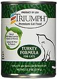 Triumph Turkey Canned Cat Food, Case Of 12, 13 Oz.
