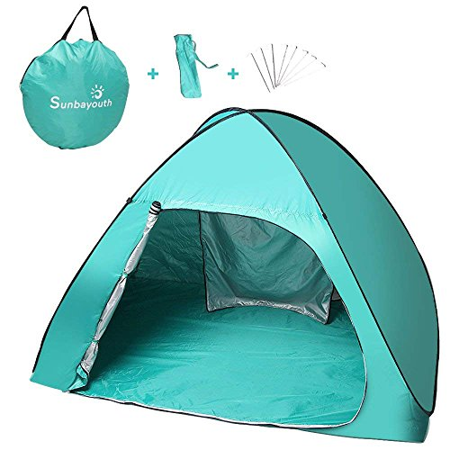 SUNBA YOUTH Beach Tent, Pop Up Tent, Baby Beach Sun Shade, UV Protection Sun Shelter …
