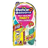 Zuru- Bunch O Balloons Party, 40 Secondi, Ricarica con 24 Palloncini e Adattatore, 3 Assortiti, Non è Possibile Scegliere, 51679