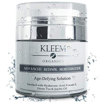 Anti Aging Retinol Moisturizer Cream: for Face, Neck & Décolleté with 2.5% Retinol and Hyaluronic Acid. Best Day and Night Anti Wrinkle Cream for Men and Women - Results in 5 Weeks