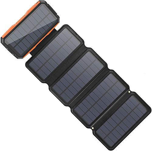 Sendowtek Caricabatterie Solare 26800mAh Power...