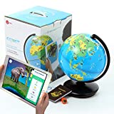 3Dで学べる 知育地球儀 Shifu Orboot 世界各国の特徴や文化を楽しみながら学習できる 立体表示で面白い AR(拡張現実) 知育玩具 STEM Toy Bilingual バイリンガル