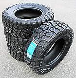 Fortune Tormenta M/T FSR310 Mud Off-Road Light Truck Radial Tire-LT265/70R17 265/70/17 265/70-17 121/118Q Load Range E LRE 10-Ply BSW Black Side Wall