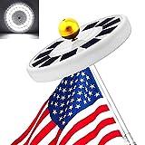 Solar Flag Pole...image