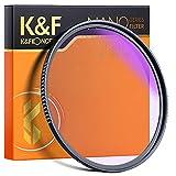 K&F Concept Filtro Naturale Notte 82mm Circolare Multistrato Filtro per Fotografia Notturna e Astrofotografia