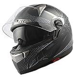 1Storm HJK316 Motorcycle Dual Visor Full Face Helmet Shield for Helmet Model: HJK316 only