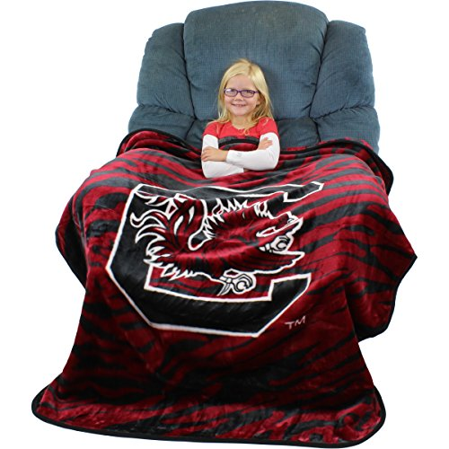 College Covers South Carolina Gamecocks Throw Blanket, 50
