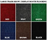 Large Custom Cut-to-Fit Trade-Show Area Rug Carpets. Custom Sizing Available to Choose from (10x10, Blue)