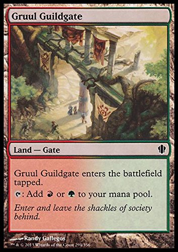 Magic The Gathering - Gruul Guildgate (298/356) - Commander 2013