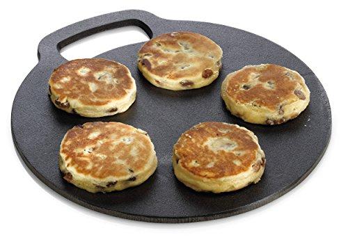 Kitchen Craft Tradizionale in ghisa Nera Pietra di Cottura