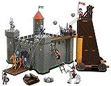 OTTO Grand Chateau Fort des Chevaliers + Tour d'assaut Mobile + Figurines +...