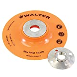 Walter Surface Technologies 15D044 Backing Pad Assembly - 4 ½ in. Sanding Disc Pad. Abrasive Wheel Pads