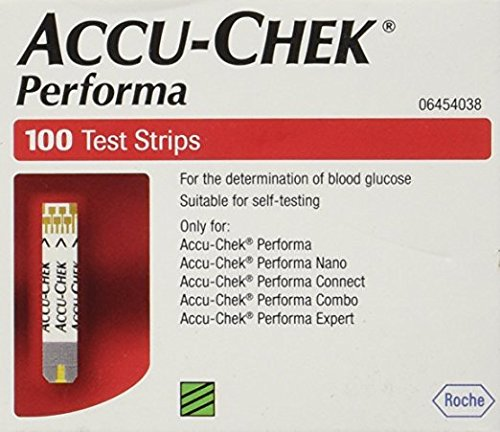 Rocheoper Ltd Accu Chek Performa (Without Chip) - 100 Strips by Accu Chek