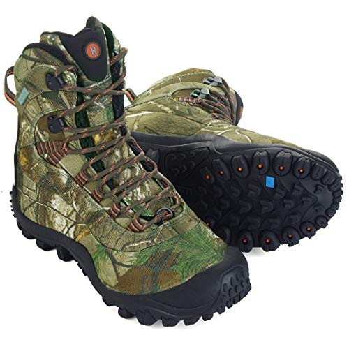 Manfen Men's Thermator Mid-Rise Waterproof Hiking Boots Trekking Outdoor Boots
