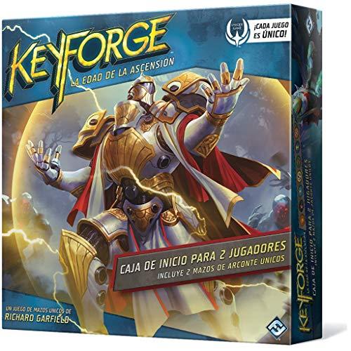 Fantasy Flight Games- KeyForge Caja de Inicio: Edad de la Ascensión, Color (KF04ES)