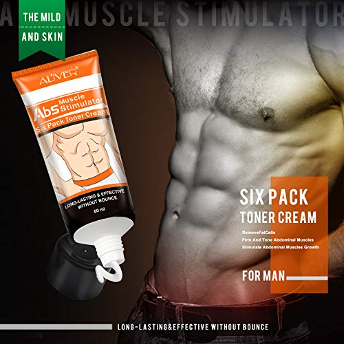 Abdominal muscle Cream Anti Cellulite Cream Fat Burning Cream Natural Body Slimming Cream for Stomach, Arms, Thighs and Skin Firming for woman and men 3