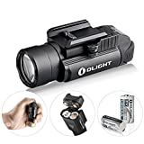 OLIGHT PL-2,PL2, pl ii Valkyrie 1200 Lumen Rail Mounted Compact Weaponlight with 2 x CR123A Batteries