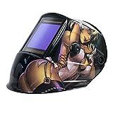 TGR Extra Large View True Color Auto Darkening Welding Helmet - 4'W x 3.65'H (Anime)