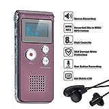 COVVY DictaphoneEnregistreurNumérique Portable Enregistreur Vocal 8GB...