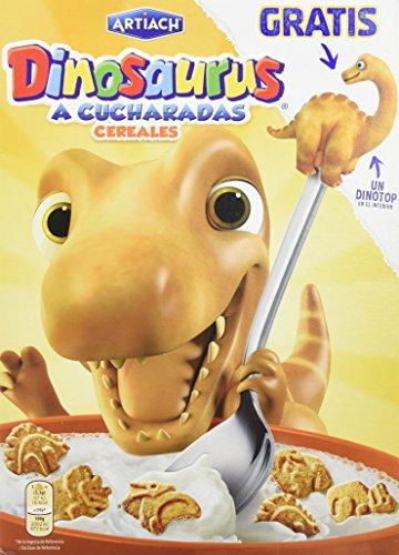 Artiach - Cereales Dinosaurus A Cucharadas, 350 g, Paquete d
