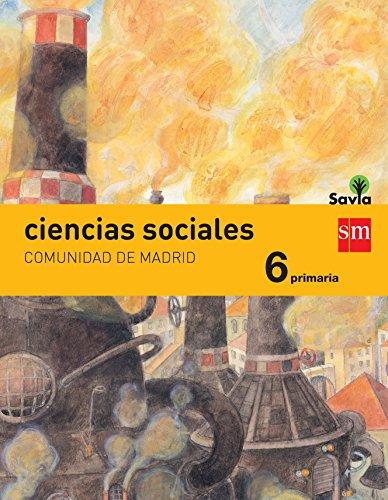 Ciencias Sociales: Comunidad de Madrid, 6 Primaria - 9788467
