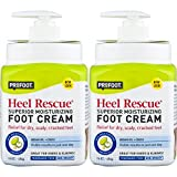 ProFoot Heel Rescue Foot Cream 16 Ounce Bottle, 2 Pack, for Cracked, Calloused, or Chapped Skin