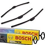 3x Scheibenwischer Vorne+Hinten Bosch AeroTwin B-Aero-A945S-A331H