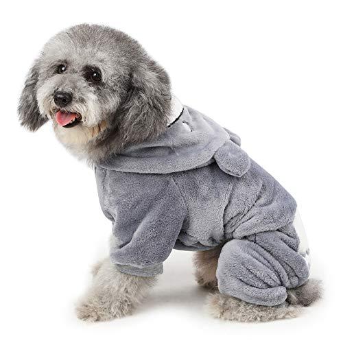 PETCUTE Maglione per Cani Abbigliamento cappottini Invernale per Cani di Peluche Felpe Caldi Vestiti per Cani Carini Pullover per Cucciolo