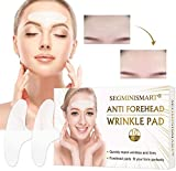 Forehead Wrinkle Patches, Anti-Wrinkle Pads, Facial Wrinkle Patches, Anti Face Wrinkle Pads, Overnight Smoothing Forehead Wrinkle Resistant Masks Pads for Men and Women, 10 PCS