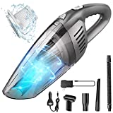 Portable Cordless Handheld Vacuum Cleaner, 8000PA Strong Suction, 120W High Power, Wet & Dry Use,...