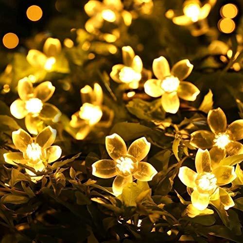 Fizzytech 16 LED 3 Meter Blossom Flower Fairy String Lights, Christmas Lights for Diwali Home...