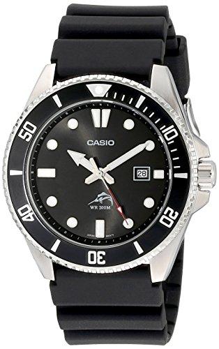 Casio Men's MDV106-1AV 200M Duro Analog Watch, Black