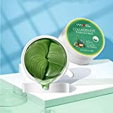 Vanecl Under Eye Patches - 30 Pairs | Seaweed Collagen Hydrating Eye Mask Patches | Anti-Aging Eye Gel Pads | Under Eye Mask with Hyaluronic Acid for Dark Circles, Wrinkles, Puffy Eyes, Fine Lines