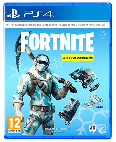 Fortnite: Lote De Criogenización (La caja contiene código de descarga)