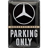 Nostalgic-Art Plaque vintage Mercedes-Benz – Parking Only – Cadeau pour...