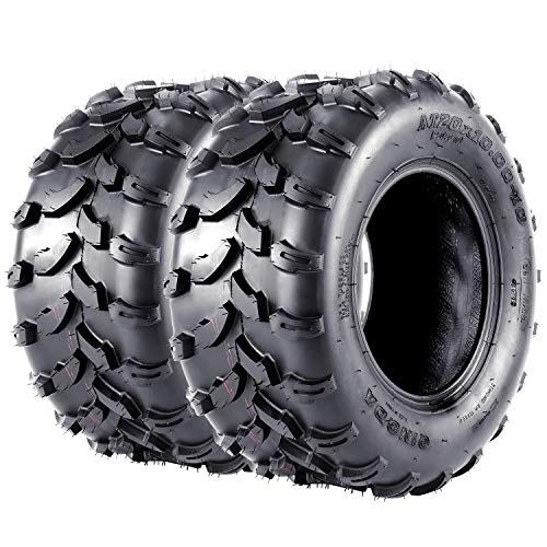 VANACC ATV UTV Tires 20x10x10 Sport AT Tire 20 inch 20x10-10, 4PR, Set of 2