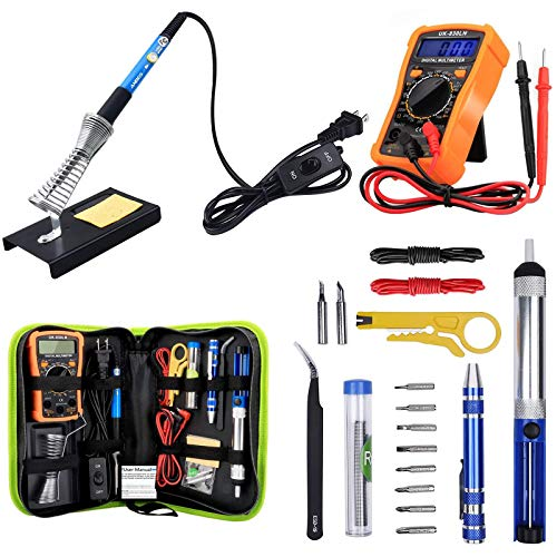 Anbes 60-Watt Soldering Iron Kit With Multimeter and Desoldering Pump