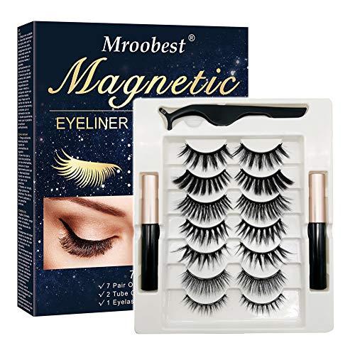 Pestañas Postizas Magneticas, Pestañas Magneticas Delineador, Magnetic Eyeliner,...