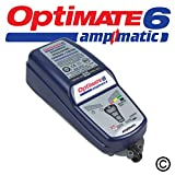 Optimate 6 Ampmatic 12v Auto Moto Smart Automatique Chargeur Optimiseur