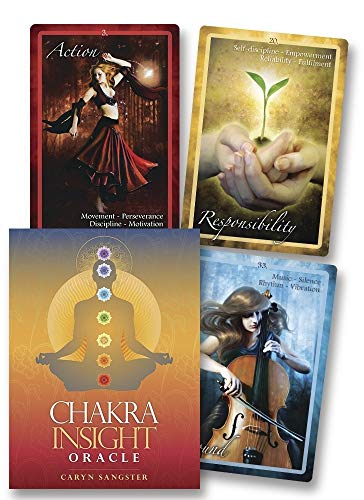 Chakra Insight Oracle: A Transformative 49-Card Deck