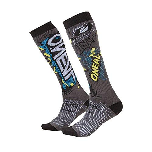 O\'NEAL Pro Villain MX Socken grau Einheitsgröße 2020 Oneal